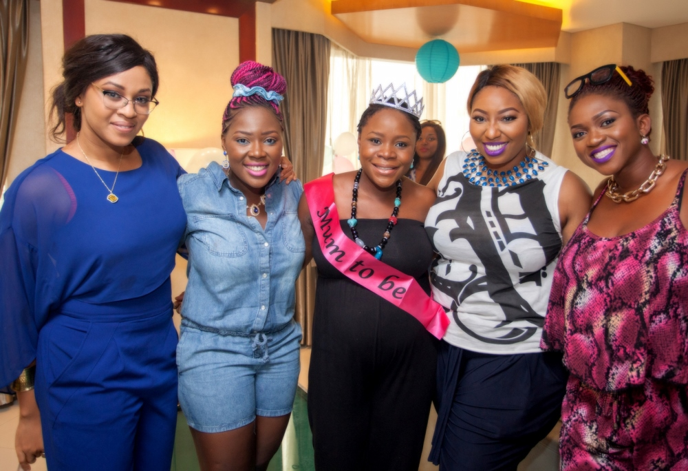 Omawumi's Baby Shower - April 2015 - InterContinental Hotel Lagos, Nigeria - BellaNaija064