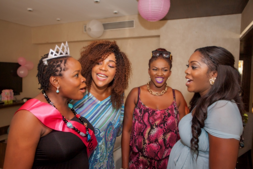 Omawumi's Baby Shower - April 2015 - InterContinental Hotel Lagos, Nigeria - BellaNaija065