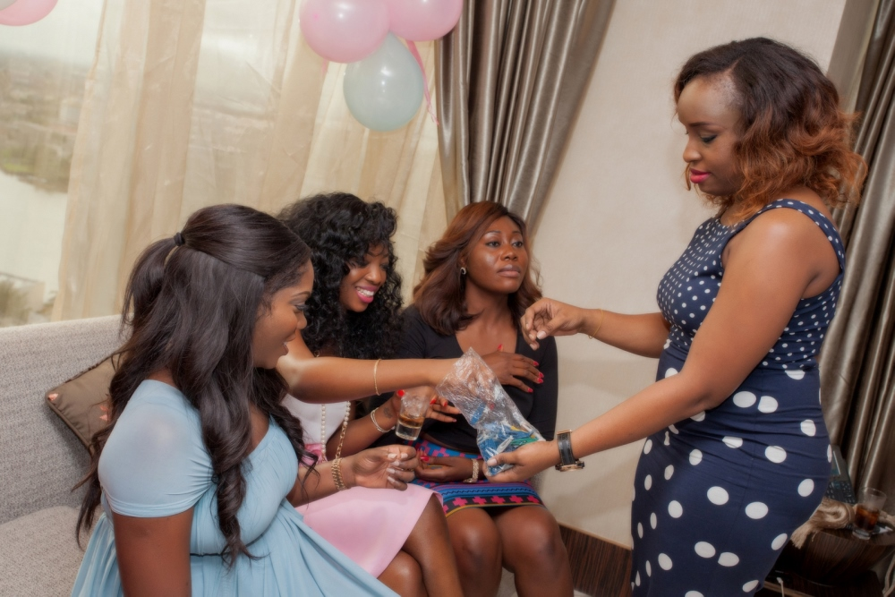 Omawumi's Baby Shower - April 2015 - InterContinental Hotel Lagos, Nigeria - BellaNaija070