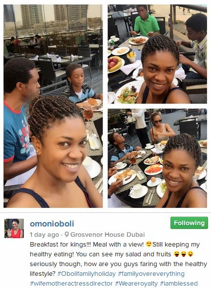 Omoni Oboli Easter Dubai Trip 2015 3