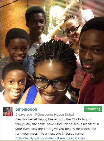 Omoni Oboli Easter Dubai Trip 2015 4