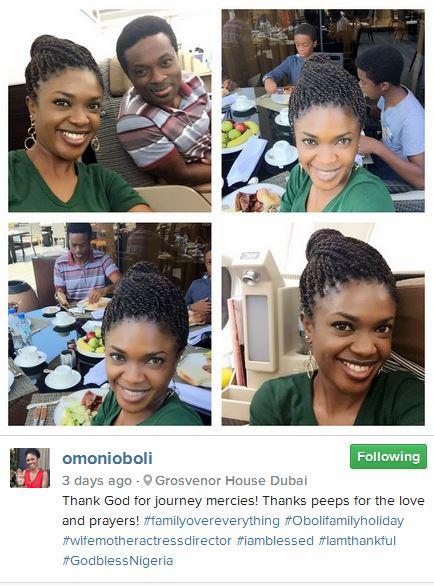 Omoni Oboli Easter Dubai Trip 2015 5