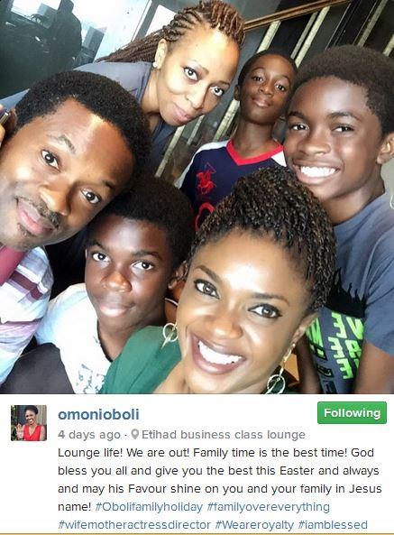 Omoni Oboli Easter Dubai Trip 2015 6