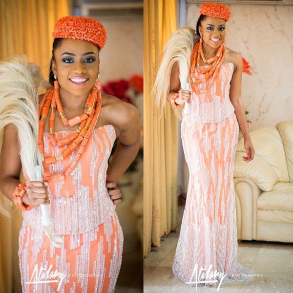 Wedding In Nigeria Traditional Dresses: First Photos From Onyinye Onwugbenu Of MUD Cosmetics