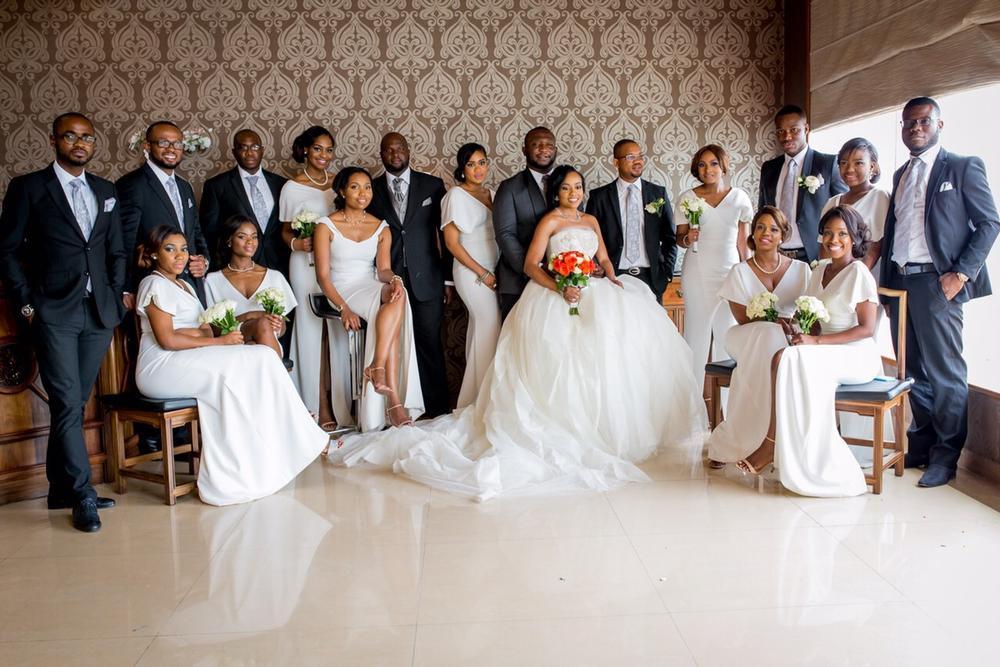 Onyinye Onwugbenu & Bosah Chukwuogo Wedding April 2015 - 13