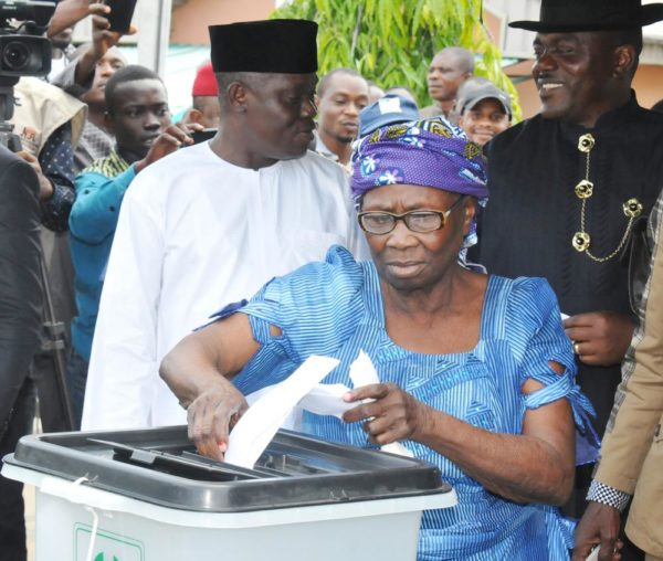 PIC.29. HOUSE OF ASSEMBLY ELECTION IN BAYELSA