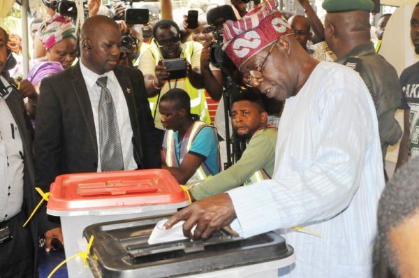 PIC.32. GOVERNORSHIP AND HOUSE OF ASSEMBLY ELECTIONS IN LAGOS