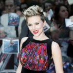 "Cast member Johansson poses at the european premiere of ""Avengers: Age of Ultron"" at Westfield shopping centre, Shepherds Bush, London"