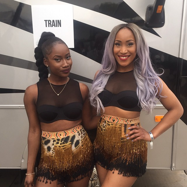 Soliat and Nqobile CEO Dancers