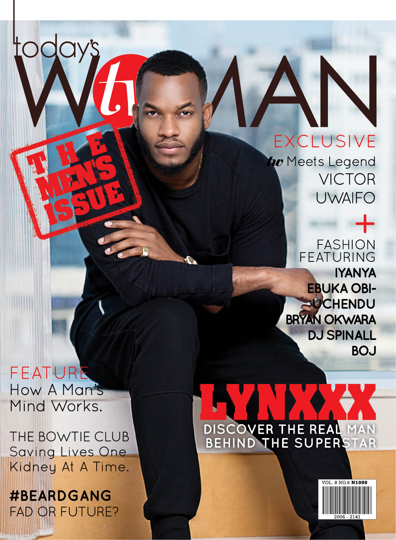 Itu0027s All About The Stylish Men In TW Magazineu0027s April 2015 Issue With  Lynxxx As The Cover Star!