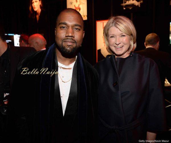 Kanye West & Martha Stewart
