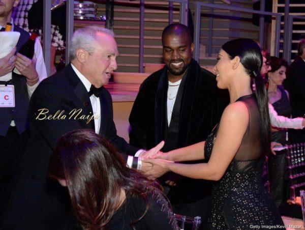 Lorne Michaels, Kanye West & Kim Kardashian