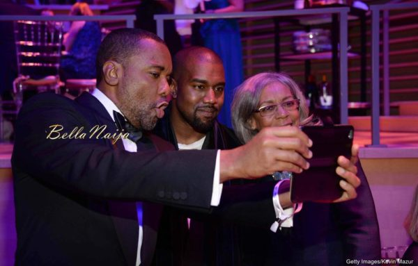 Lee Daniels, Kanye West & Clara Watson