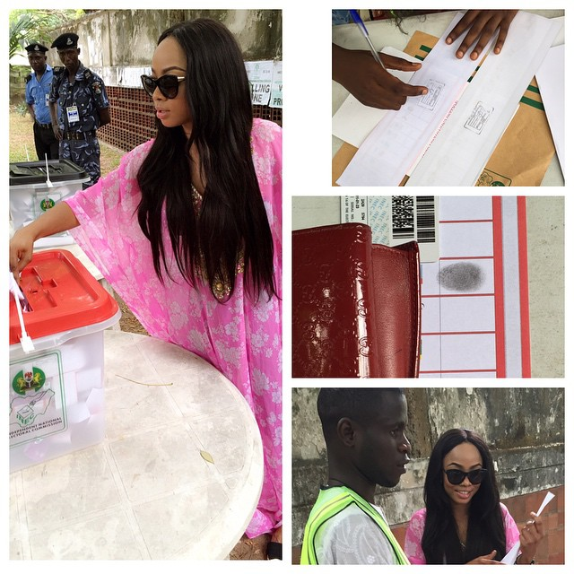 Celebs Spotted Voting Part 2