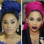 Toyin Lawani Coloured Braids - BellaNaija - April2015003