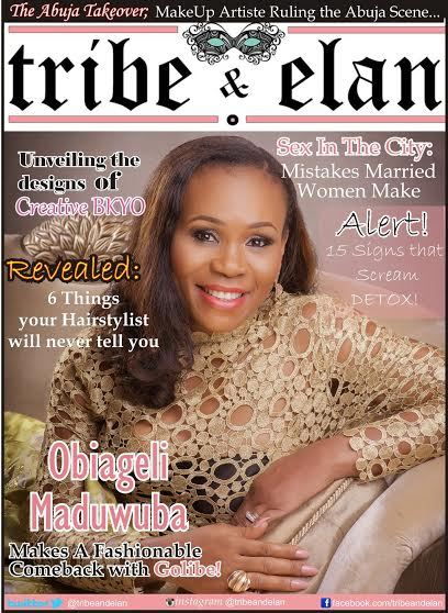 Tribe & Elan Magazine - BellaNaija - April2015003