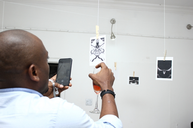 Tunji Lana LanaBlack Is Exhibition - BellaNaija - April2015 (4)