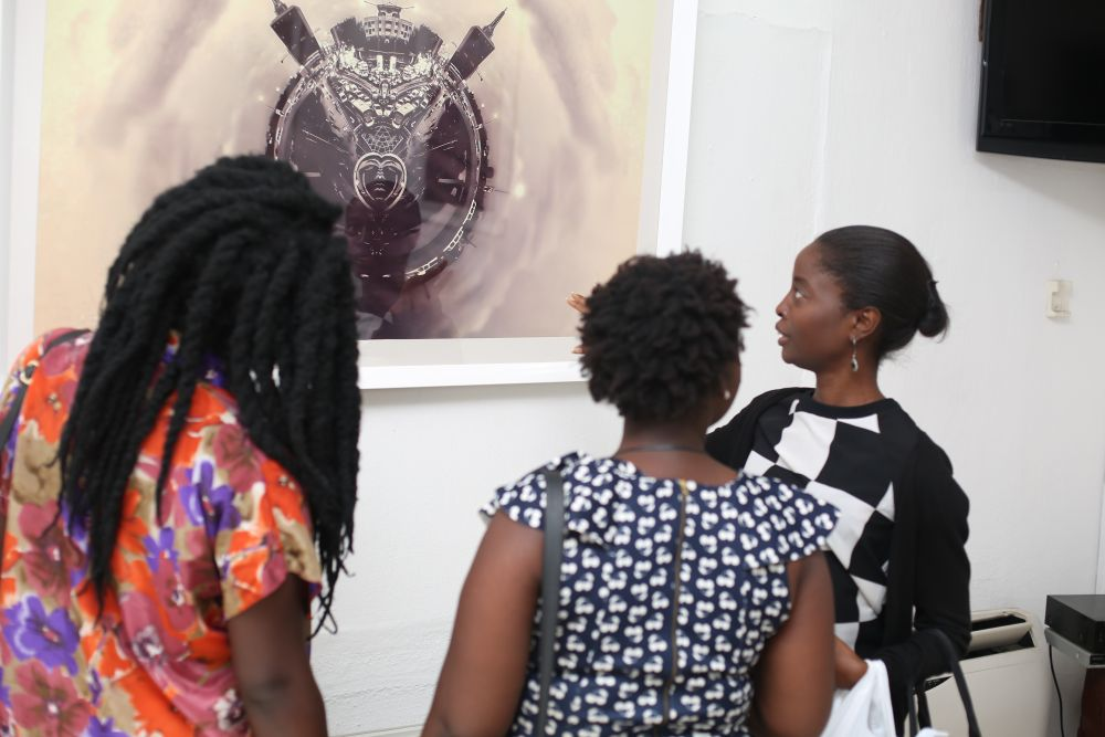 Tunji Lana LanaBlack Is Exhibition - Bellanaija - April2015001