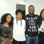 L-R: Aderonke Akinyele, Bolanle Austen-Peters, Tunji Lana & Jennifer Ukoh