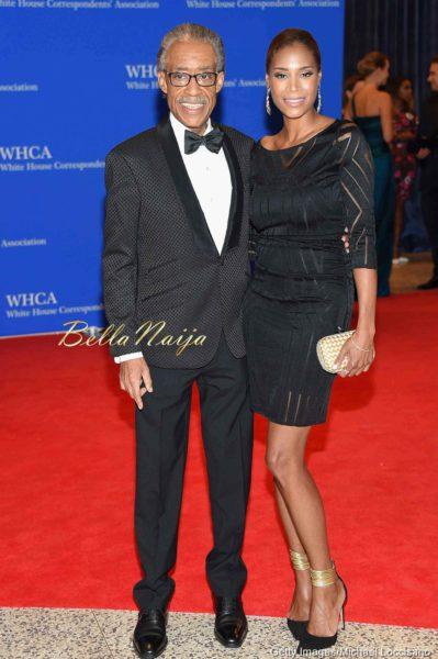 Al Sharpton and Aisha Mcshaw