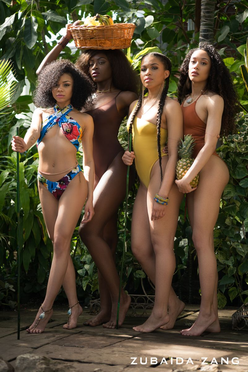 Zubaida S Zang WILD Girls of Summer Collection Debut - Bellanaija - March2015002
