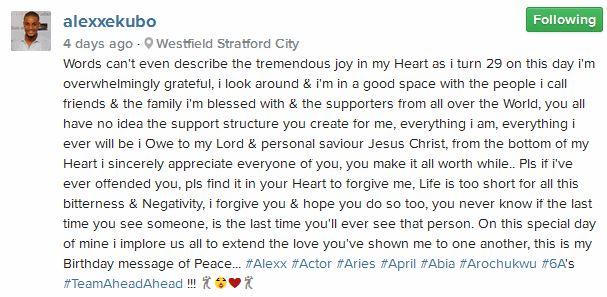 alexx ekubo april 2015 birthday