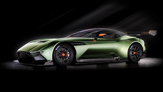 Aston Martin Also Introduced Its Track Only Car Named Vulcan A Set To Rival Mclaren S P1 Gtr And Ferrari F K It Has Mind Ing 800 Plus Bhp
