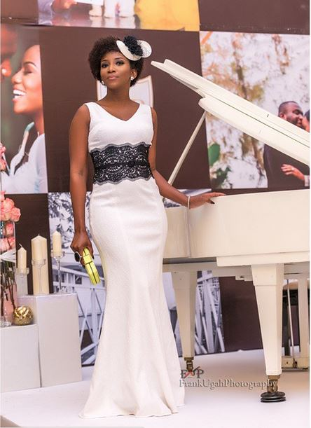 genevieve nnaji at Onyinye Onwugbenu & Bosah Chukwuogo Wedding April 2015 - 1