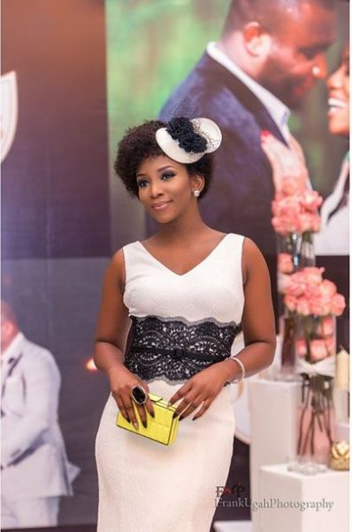 genevieve nnaji at Onyinye Onwugbenu & Bosah Chukwuogo Wedding April 2015 - 2