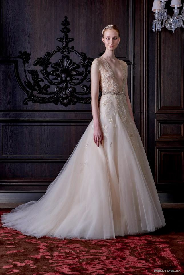BN Bridal: Monique Lhuillier Spring 2016 - BellaNaija