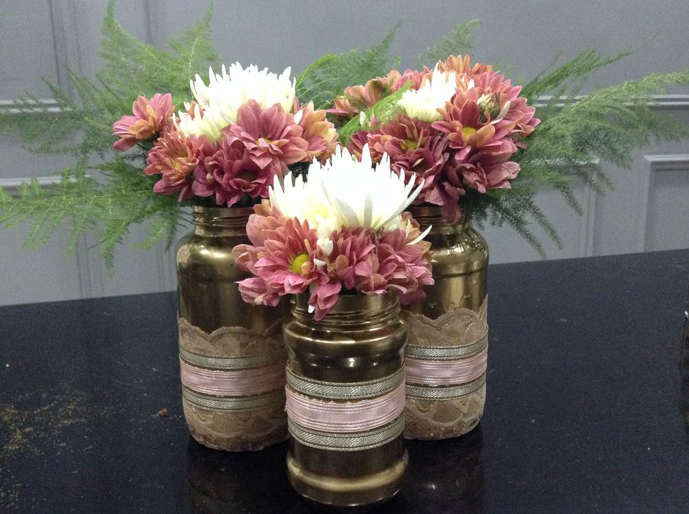 Turn your old jam jars into beautiful flower vases tinuke odunfa upcycled vase 8 reviewsmspy