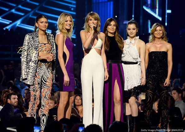 Zendaya, Martha Hunt, Taylor Swift, Lily Aldridge, Hailee Steinfeld and Ellen Pompeo