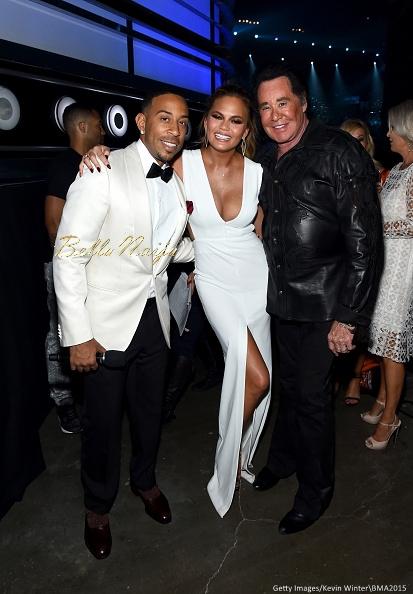 Ludacris, Chrissy Teigen and Wayne Newton
