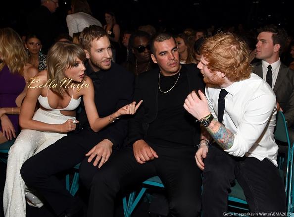 Taylor Swift, Calvin Harris and Ed Sheeran
