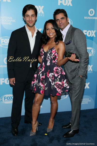 Josh Peck, Christina Milian and John Stamos