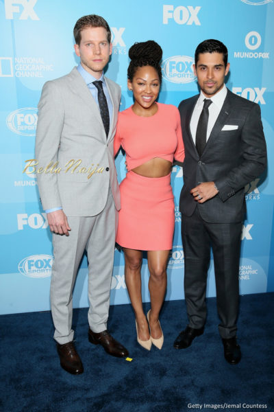 Stark Sands, Meagan Good and Wilmer Valderrama