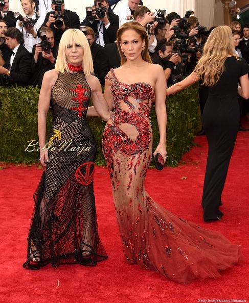 Donatella Versace & Jennifer Lopez
