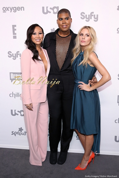 Dorothy Wang, EJ Johnson and Morgan Stewart