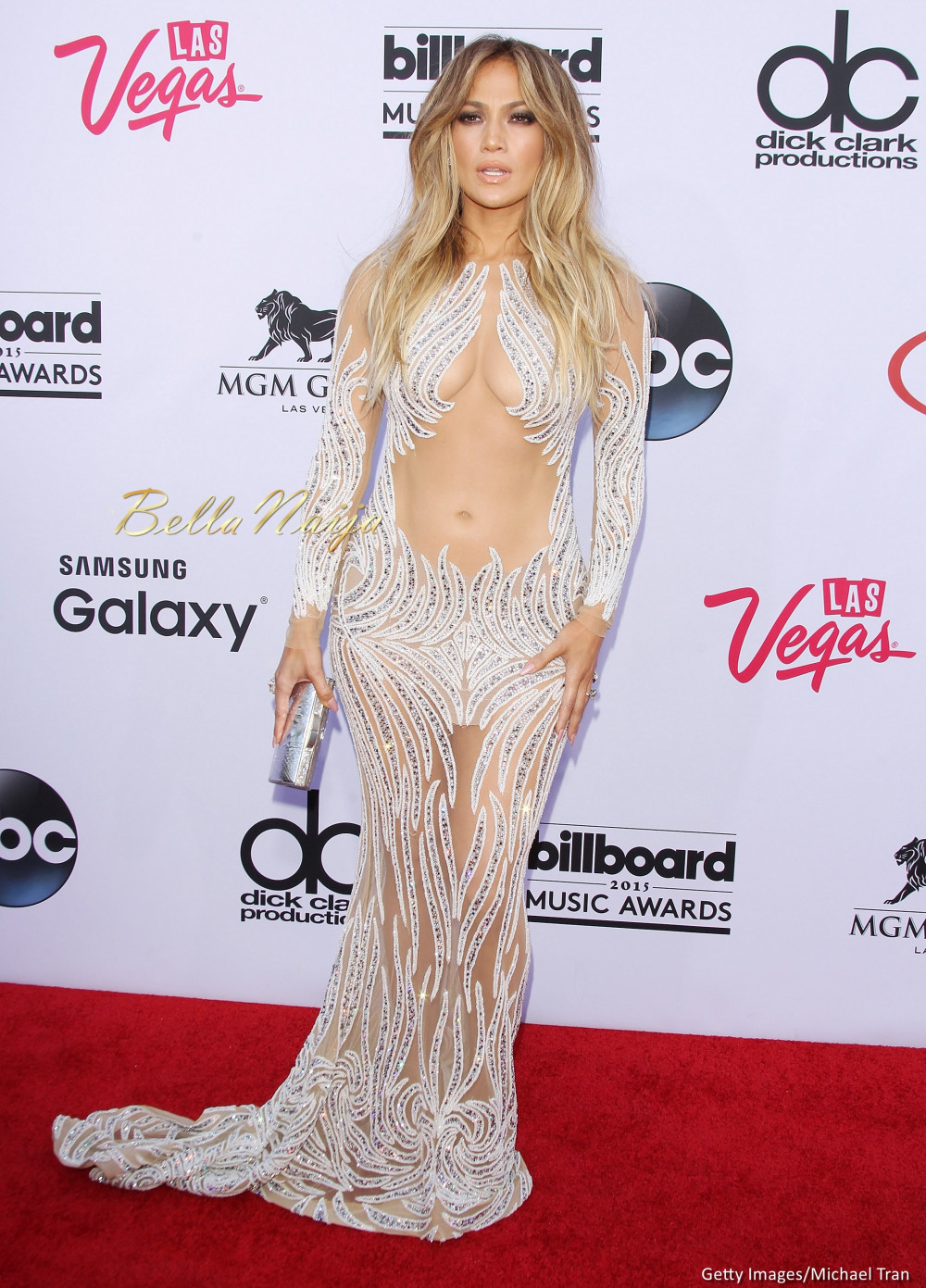 the 2015 billboard music awards held yesterday at mgm grand garden