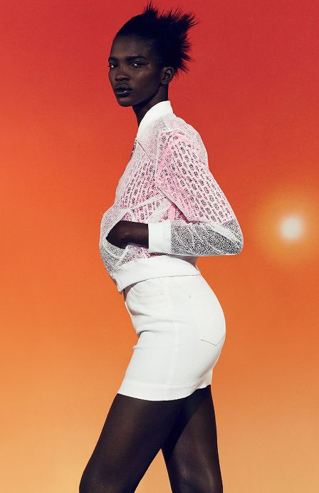 Aamito Stacie Lagum for Kenzo - BellaNaija - May 2015
