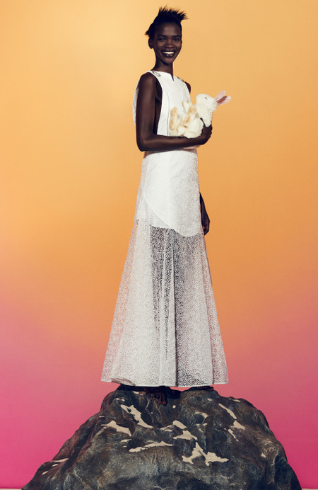 Aamito Stacie Lagum for Kenzo - BellaNaija - May 2015006