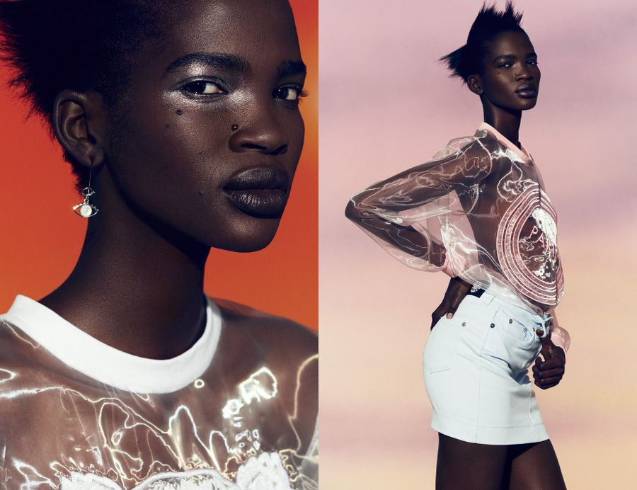 Aamito Stacie Lagum for Kenzo - BellaNaija - May 2015008