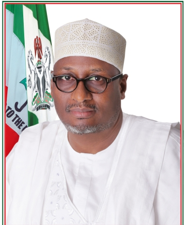 The Official Portrait of PDP New Chairman Ahmadu Adamu Mu'Azu