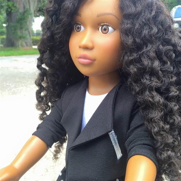 Angelica Sweeting Natural Hair Doll - Bellanaija - May 2015