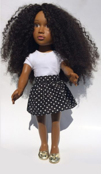 Angelica Sweeting Natural Hair Doll - Bellanaija - May 2015002