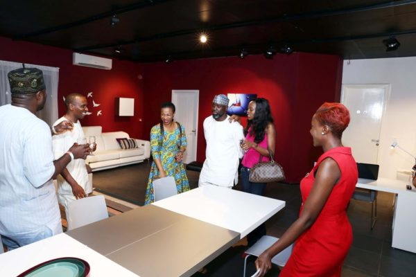 The Family of Dayo Aderugbo with BoConcept Manager, Grace Kalu