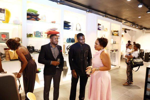 Mavis Aiyejo with Mavin Crew Managers