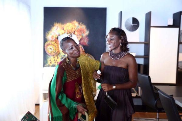 Nike Okundaye & Hafsat Abiola-Costello