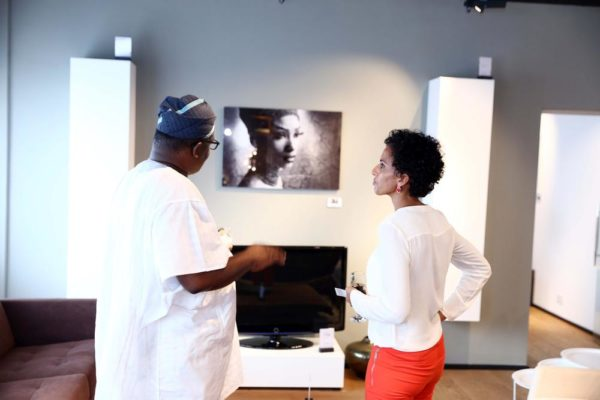 Yetunde Babaeko in a conversation about her work