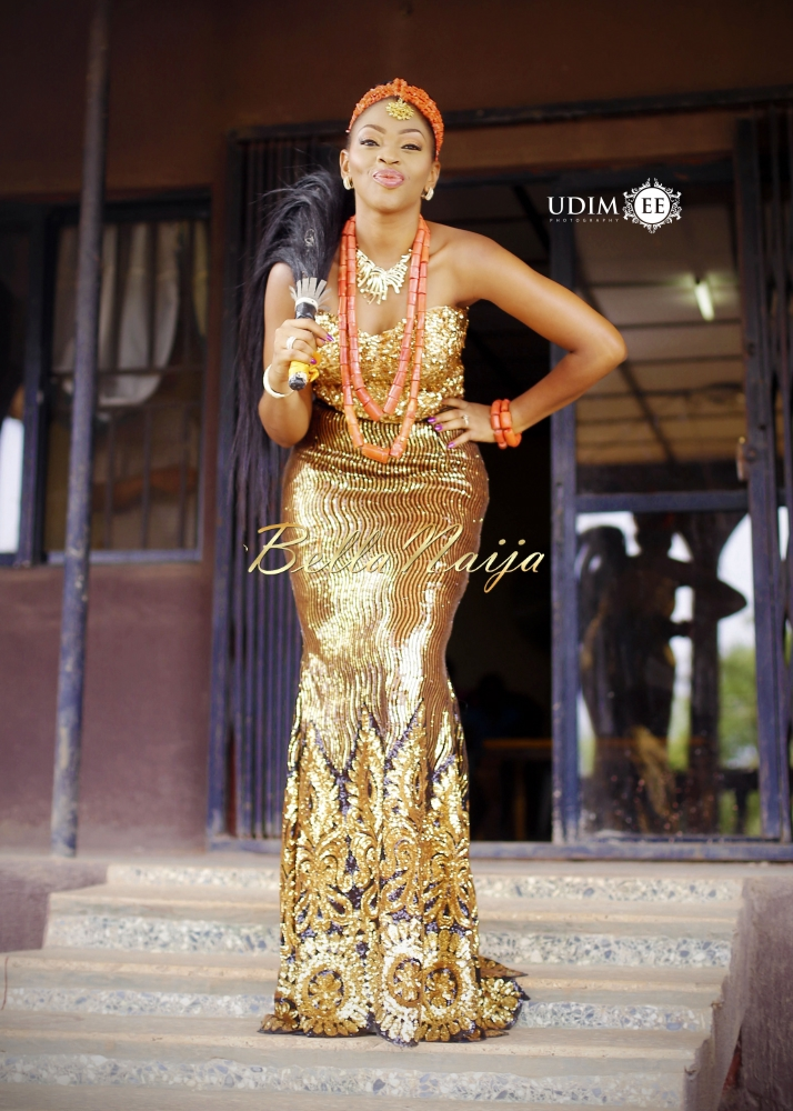 BellaNaija Weddings 2015 - Chioma & Bright - Udimee Photography - Igbo NigerianTRADITIONAL WEDDING (4)